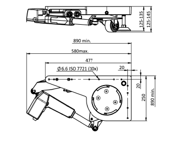 Lift Castor electrical drawing