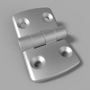 Die-cast Aluminum Combi Hinges