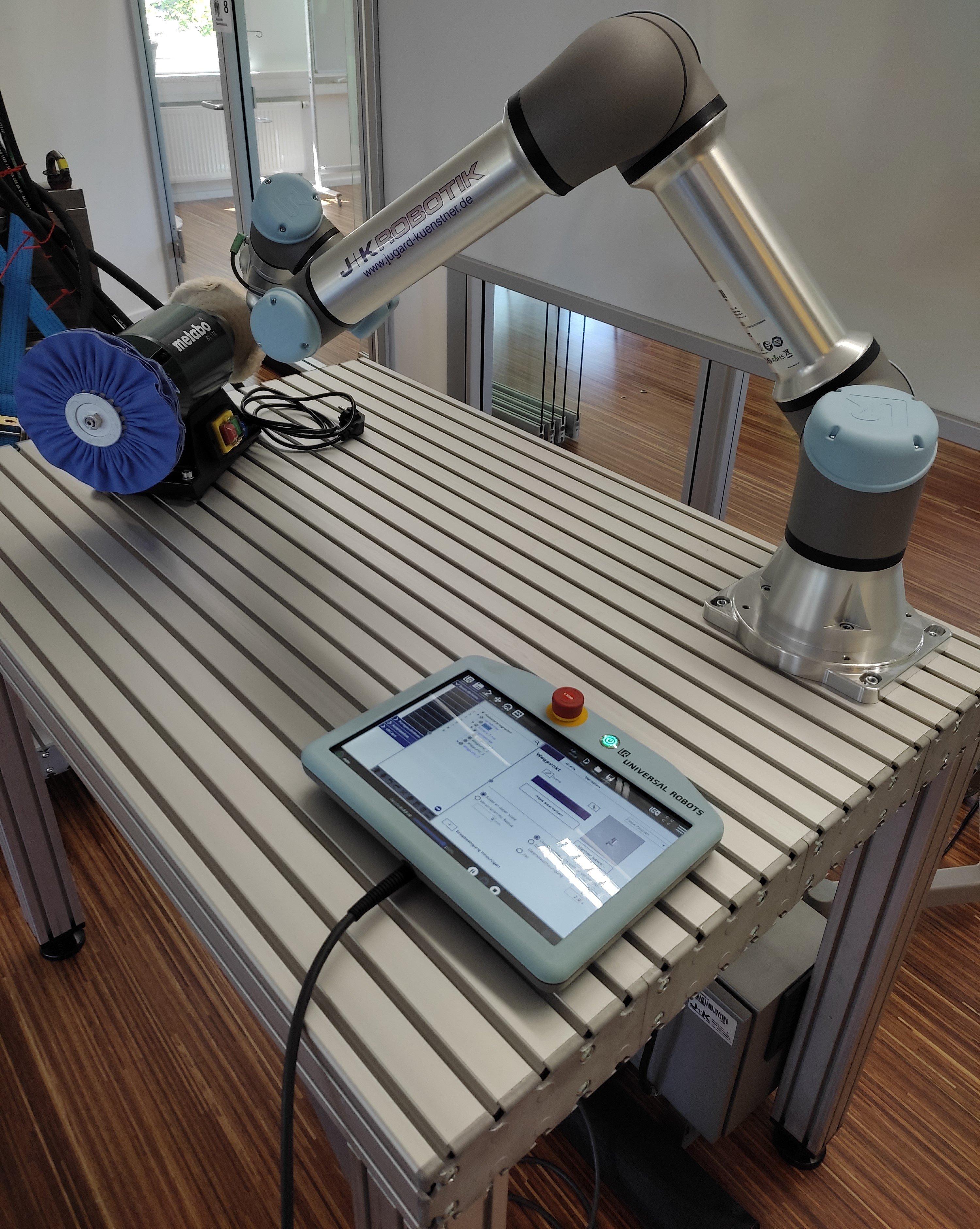 Profilplatte als Roboterplattform
