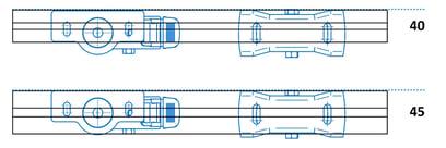 Rolle-mit-Adapterplatte-40+45er-Raster