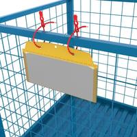 Kunststoffbinder für Sichttasche